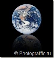 отражение_глобуса