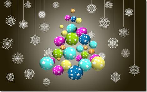 открытка к рождеству в фотошопе