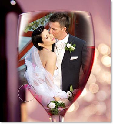 коллаж свадебных фотографий