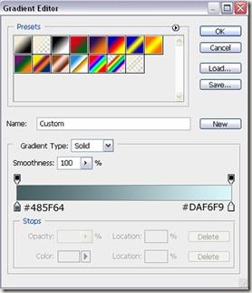 gradientsettings