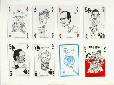 политические игральные карты