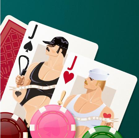 креативные игральные карты