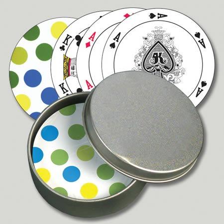 круглые игральные карты