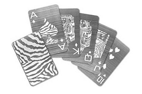 стальные игральные карты