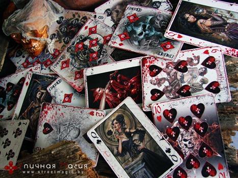кровавые игральные карты