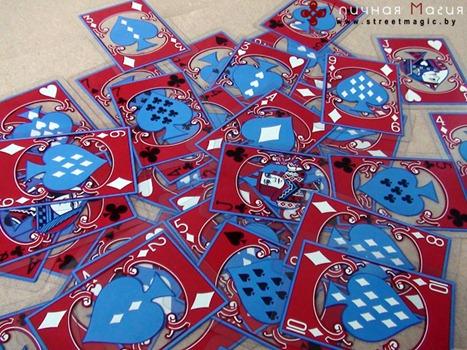 прозрачные игральные карты
