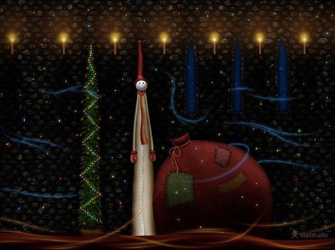 открытка рождественския интересная