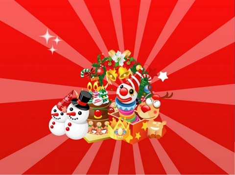 открытка рождественския