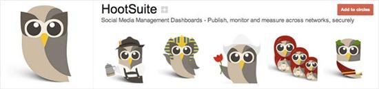 20 креативных профилей Google плюс