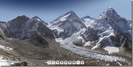 панорама эвереста