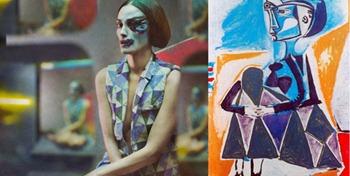 Переосмысление картин Пикассо