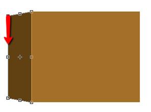 создание боковой стенки коробки