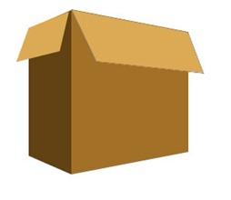 коробка 3d