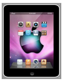 Как нарисовать iPad в фотошопе