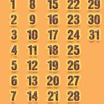 Универсальные календарные блоки