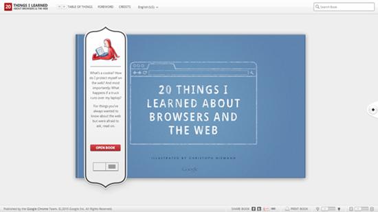 10 необычных сайтов на HTML5