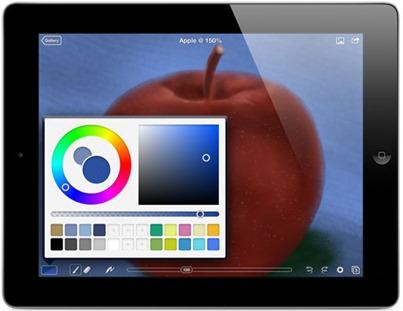 IPad приложений для художников