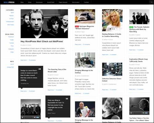 Бесплатные красивые темы для wordpress