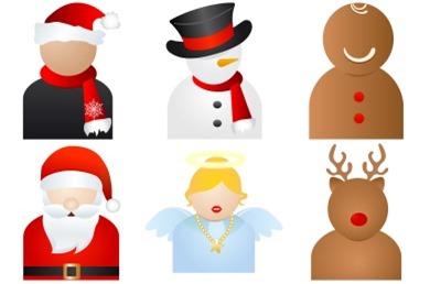 рождественые персонажи