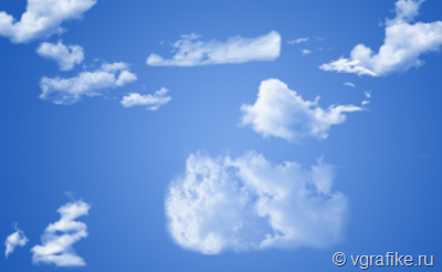 кисти-облака