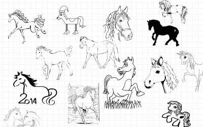 лошади-фигуры