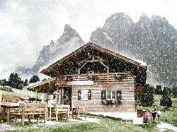 снегопад в фотошопе