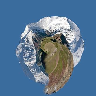 круговая панорама фотошоп