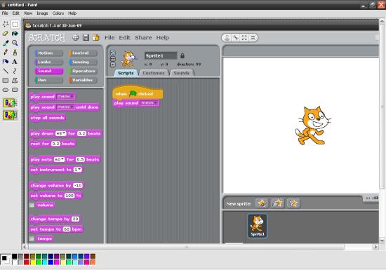 Scratch 2d анимация