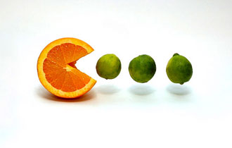 orange-eating-limes