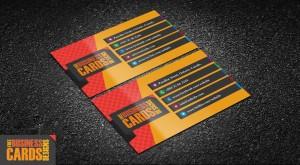 шаблон визитной карточки скачать