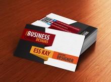 бизнес карта с текстурой