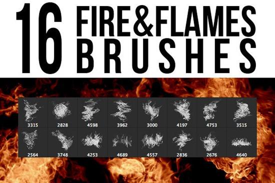 огненные кисти