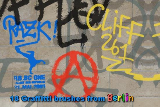 граффити кисти фотошоп