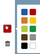 цвет блоков лего