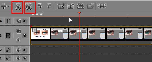 обрезка видео в мовави видео редакторе