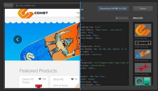 WebFlow - для создания адаптивного дизайна
