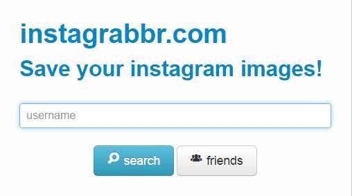 instagrabber - сохранить выборочно фото из инстаграм