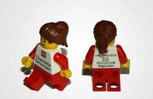 визитная карточка -  Lego