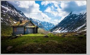 добавить отражение воды в фотошопе