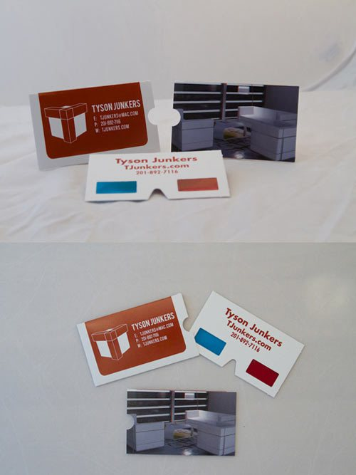 3d визитная карточка