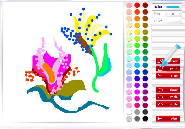 онлайн рисовалки для детей