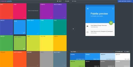 определить сочетания цветов онлайн