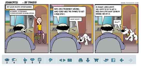 Toondoo - сделать комикс