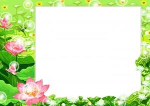 рамка с белым фоном фотошоп - как вставить