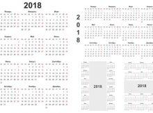 календарные сетки на 2018 год скачать бесплатно