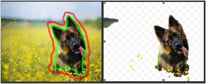 Photoscissors – программа для удаления фона