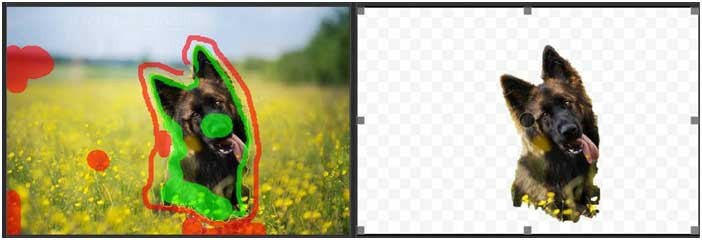 как удалить фон фото