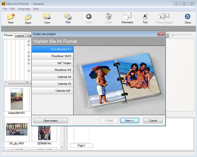Программа для создания фотокниги