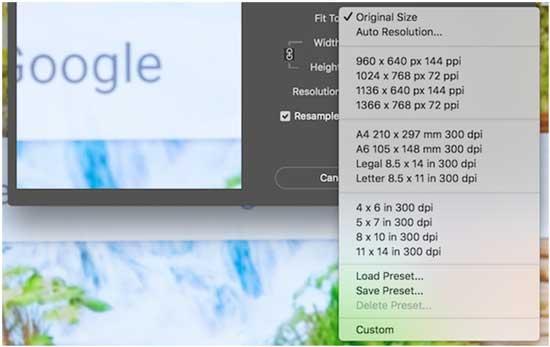 Как правильно изменить размер изображения в фотошопе