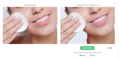 Как в один клик удалить фон с портрета без Photoshop